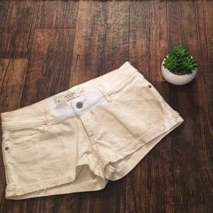 Abercrombie & Fitch | White Denim Shorts | 4